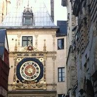Photo prise au Gros Horloge par Gaëllicious le4/2/2012