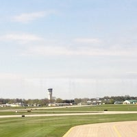 Photo taken at Wittman Regional Airport (OSH) by Rose D. on 4/19/2012