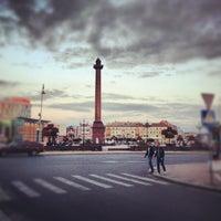 Снимок сделан в Площадь Победы пользователем Arthur I. 8/12/2012