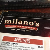 Photo taken at Milano's Pizza, Subs & Taps by Nathan N. on 8/22/2012