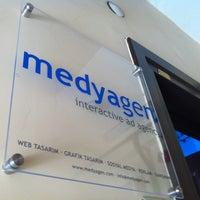 Photo taken at medyagen by Mevlüt Ç. on 8/8/2012