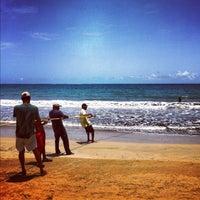 Photo taken at Playa Fortuna by Radhames L. on 7/29/2012