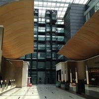 Photo taken at Hilton Frankfurt Airport by Robert on 5/19/2012
