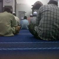 Photo taken at Masjid Kg Delima Wakaf Bharu by Ahmad I. on 8/11/2012