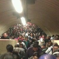 Photo taken at Metro Tacubaya by Bernardo B. M. on 7/18/2012