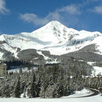 Photo taken at Big Sky Resort by Jill J. on 4/7/2012