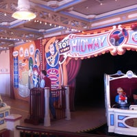 Photo taken at Toy Story Midway Mania! by Mike D. on 7/31/2012