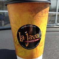 Photo taken at LaJava a roasting house by Michelle (. on 4/27/2012