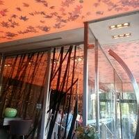 Photo taken at Radisson Blu Park Hotel by Zac on 8/28/2012