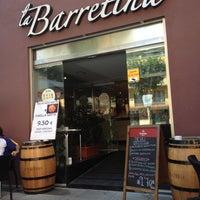 Photo taken at La Barretina by Victor M. on 7/2/2012