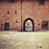 Photo taken at Castello Visconteo by Storvandre on 4/28/2012