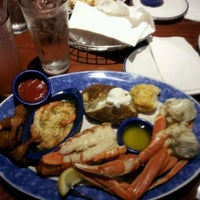 Photo taken at Red Lobster by $♣ MicahMan ♣$ on 6/1/2012
