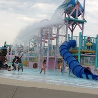 Photo taken at Red Oaks Waterpark by Gina V. on 8/2/2012