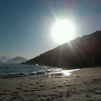 Photo taken at Praia do Sossego by Priscilla P. on 5/29/2012