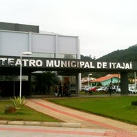 Photo taken at Teatro Municipal de Itajaí by Rafael A. on 8/5/2012