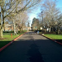 Photo taken at Multnomah University by Weston R. on 2/24/2012