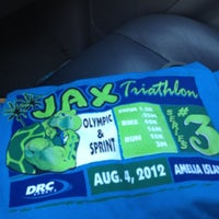 Photo taken at Jacksonville Running Company by brian f. on 8/3/2012