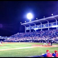 Photo taken at George M Steinbrenner Field by Laura F. on 3/31/2012
