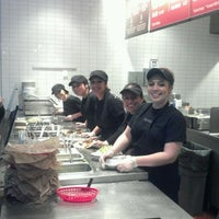 Photo taken at Chipotle Mexican Grill by Windy H. on 3/17/2012