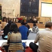 Photo taken at GBT Kristus Raja Damai by Isaac Y. on 9/4/2012