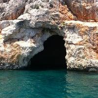 8/27/2012 tarihinde Hazalziyaretçi tarafından Korsan Mağarası'de çekilen fotoğraf