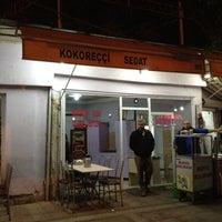 Photo taken at Kokoreççi Sedat Usta by Serhat G. on 4/19/2012