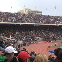 Photo taken at Franklin Field by Antoine W. on 4/28/2012
