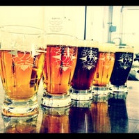 Photo taken at Latitude 33° Brewing by Compmonkey on 4/8/2012