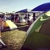 Photo taken at Coachella Car Camping by John B. on 4/20/2012