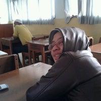Photo taken at SMAN 47 by Agi B. on 5/25/2012