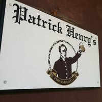 Photo taken at Patrick Henry's Pub & Grille by Evan T. on 3/27/2012