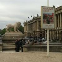Photo taken at Jeu de Paume by Romain S. on 4/8/2012