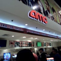 Photo taken at AMC Atlantic Times Square 14 by Joanna W. on 7/1/2012