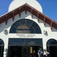 Photo taken at Hearst Castle Visitor Center by Ferez K. on 7/31/2012