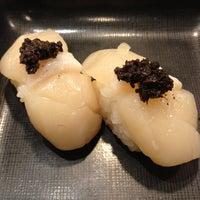 Photo taken at Sushi Nagoyaka Tei 和花亭壽司 by Faith W. on 4/6/2012