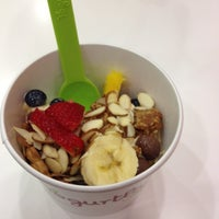 Photo taken at Yogurtland by Andrea B. on 4/11/2012