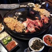Photo taken at Honey Pig Korean BBQ by Jasper I. on 9/2/2012
