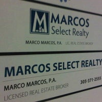 Photo taken at Marcos Select Realty by Marco M. on 3/12/2012