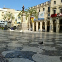 Photo taken at Plaça de la Vila by Elna87 on 8/4/2012