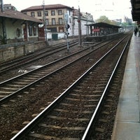 Photo taken at Estacion Renfe Barakaldo by Rakel F. on 4/17/2012
