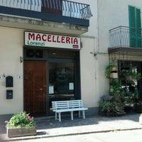 Photo taken at Macelleria Lorenzi by Mario M. on 8/24/2012