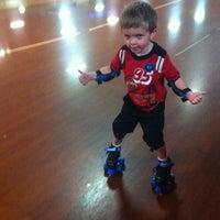 Photo taken at Aurora Skate Center by Sandy G. on 8/7/2012