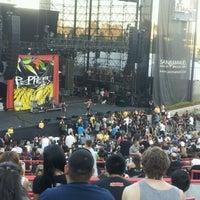 Photo taken at Verizon Wireless Amphitheatre by Curtis C. on 7/29/2012