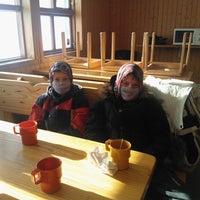 Photo taken at Skíðaskáli Breiðabliks by Stefán Örn S. on 3/17/2012