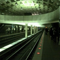 Photo taken at Crystal City Metro Station by Mercedes U. on 5/11/2012