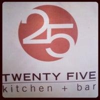 Photo taken at 25 Kitchen & Bar by Sam G. on 6/28/2012