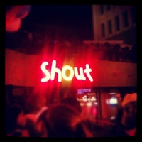 Photo taken at Shout! Restaurant & Lounge by Vince H. on 5/20/2012