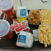 Photo taken at Burger Café America by Mela M. on 4/6/2012