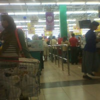 Photo taken at Carrefour by Rio R. on 3/4/2012