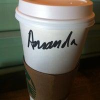 Photo taken at Starbucks by amanda t. on 3/20/2012
